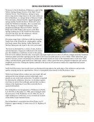 devils backbone wilderness - USDA Forest Service - US Department ...