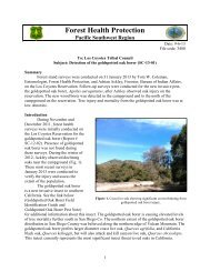 Los Coyotes Evaluation - USDA Forest Service