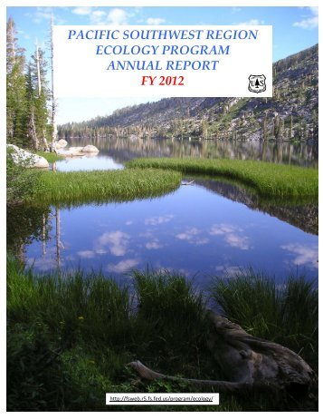 pacific southwest region ecology program annual report fy 2012