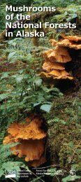Mushrooms of the National Forests in Alaska - USDA Forest Service