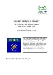 EUBEES - ECHA - Europa