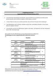 Fortbildungscurriculum Augenheilkundlich technische Assistenz ...