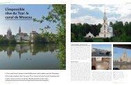 L'impossible rêve du Tsar: le canal de Moscou