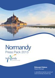 Normandy Press Pack 2013 - France
