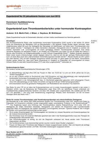 EXPERTENBRIEF No. 35 - SGGG
