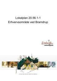 Lokalplan 20.56.1-1 Erhvervsområde ved Bramdrup - 16-12-2009