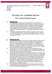 KS4 Jesson Framework Guidance 2013