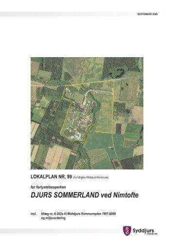 DJURS SOMMERLAND ved Nimtofte LOKALPLAN NR ... - 16-12-2009