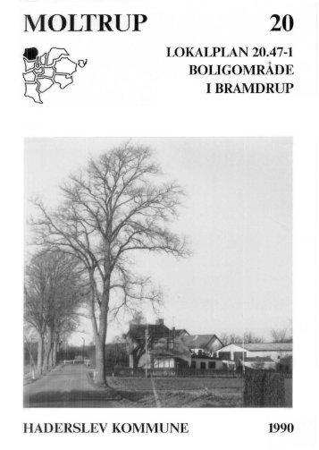 Haderslev Kommune lokalplan nr. 20.47-1 - 16-12-2009