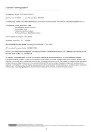 (12)Indian Patent Application - Questel