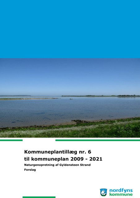 Kommuneplantillæg nr. 6 til kommuneplan 2009 - 2021