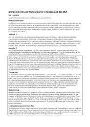 Klimafaktoren Nordamerika - PDF [544 KB] - SwissEduc.ch