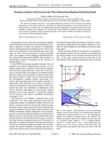 Phys. Rev. Lett 96, 117202 - ICTP
