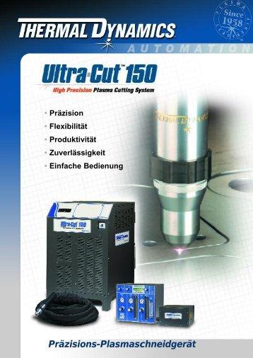 63-2332 TDC Ultra-Cut 150 BRO ƒ - Victor Technologies