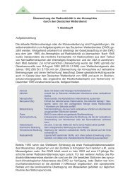 Überwachung der Radioaktivität in der ... - web-docs.gsi.de