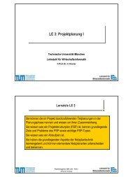PM_SS04_LE03.pdf - Lehrstuhl für Wirtschaftsinformatik