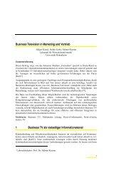 98-08.pdf - Lehrstuhl für Wirtschaftsinformatik