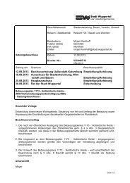 Bebauungsplan 1173 - Drucksache ... - Stadt Wuppertal