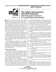 The Urban Environment And NPS Pollution - Alabama Cooperative ...