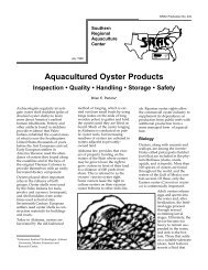aquacultured oysters - Alabama Cooperative Extension System