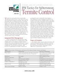 IPM Tactics for Subterranean - Alabama Cooperative Extension ...