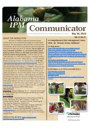 May 20, 2013 Vol. 4, No. 5 - Alabama Cooperative Extension System