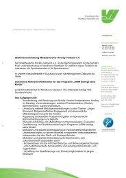 Stellenausschreibung - Deutscher Hockey Bund e.v.