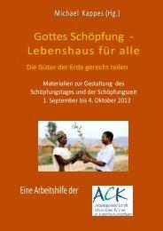 Gottes Schöpfung – Lebenshaus für alle - ACK-NRW