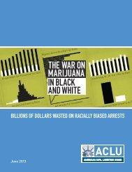 The War on Marijuana in Black and White - American Civil Liberties ...
