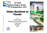 Keynote Lecture 2 - Cities resilient to floods