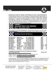 Grosser Preis von Übersee - Sektion beider Basel