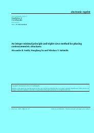 An integer minimal principle and triplet sieve method ... - Acsu Buffalo