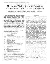 Multi-sensor Wireless System for Eccentricity and Bearing Fault ...