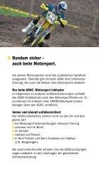 Unfallschutz für Motorsport - ADAC Motorsport