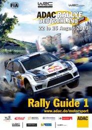 nur Text, UPDATE 28.06.2013 - ADAC Rallye Deutschland