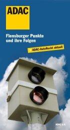 Flensburger Punkte und ihre Folgen - ADAC