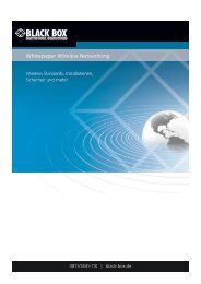 Whitepaper: Wireless Standards, Techniken, Planung und Installation