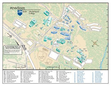 Campus Map - Penn State Erie