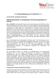+++ Pressemitteilung vom 16. Mai 2013 +++ HUK24 ... - adesso AG