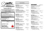 Programm 2. Halbjahr 2013 im Schaumburger Land - ADFC ...
