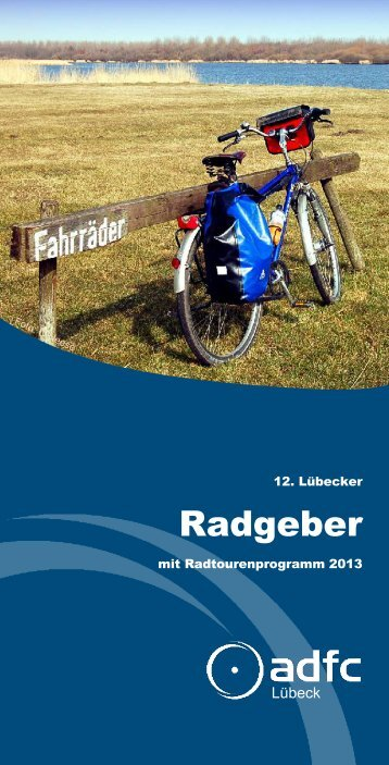 Radgeber2013_klein.pdf - ADFC Schleswig-Holstein