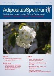 Vergleichsstudie - Adipositas Spektrum