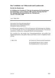 Das Verhältnis von Völkerrecht und Landesrecht - admin.ch