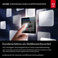 Booklet - Adobe Digital Marketing