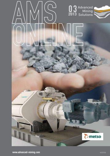 Aichtal, 2013 - Advanced Mining Solutions