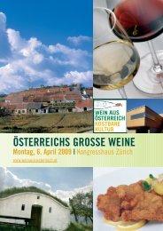 Österreichs grosse Weine - Advantage Austria