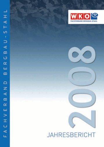 Jahresbericht: Fachverband Bergbau - Stahl - Advantage Austria