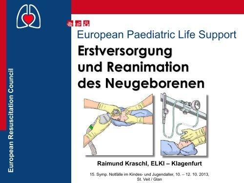 Erstversorgung und Reanimation des Neugeborenen