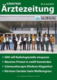 GKK will Radiologiestelle einsparen Massiver Protest in zwölf ...