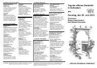 Tag der offenen Gartentür 2004 (Seite 2) - Amt für Ernährung ...